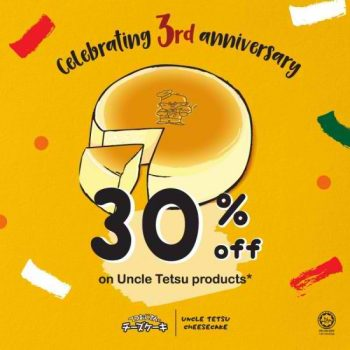 Uncle-Tetsu-3rd-Anniversary-Promotion